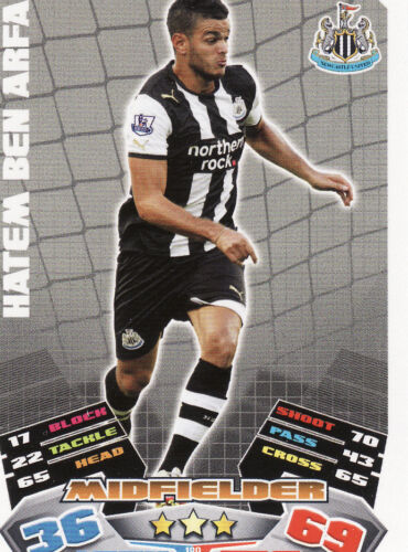 Match Attax 11//12 Newcastle Cards Pick Your Own From List
