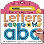 Learn To Write Your Letters by Roger Priddy (Board book, 2011)