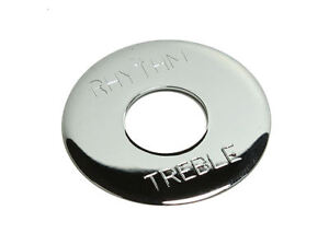 Toggle-Switch-Ring-Plate-Chrome-plated-Brass-for-Gibson-Les-Paul