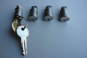 RHINO-2500-ROOF-RACK-NEW-LOCKING-BARREL-SET-4-2-x-Keys-suit-RHINO-RACKS-ACC