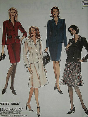 McCALL'S #8460 - LADIES SOPHISTICATED JACKET & FLARED SKIRT PATTERN 10-24 uc