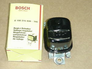 nos bosch voltage regulator harley 1965 1977 xlh xlch. Black Bedroom Furniture Sets. Home Design Ideas
