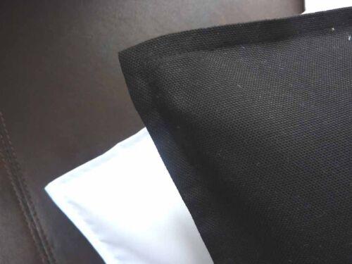 cushion cover plain cotton BLACK white RED lime PINK purple ORANGE teal YELLOW
