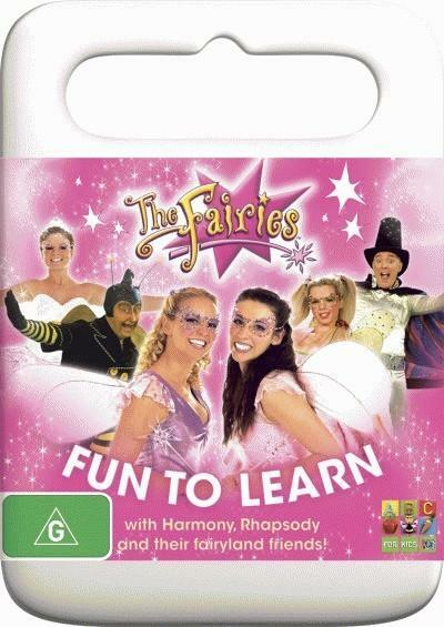 THE FAIRIES -FUN TO LEARN DVD 2010 LIKE NEW - HARMONY & RHAPSODY & THEIR FRIENDS