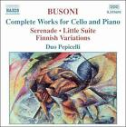 Busoni: Complete Works for Cello and Piano (2004)
