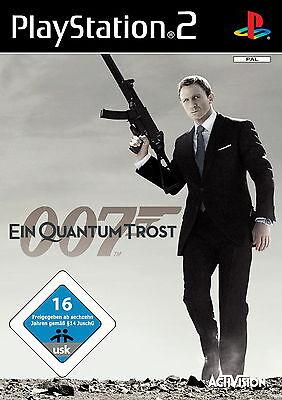James Bond 007: Ein Quantum Trost - Das Spiel (Sony PlayStation 2, 2008,...