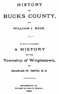 1855-Early-History-of-Bucks-County-Pennsylvania-PA
