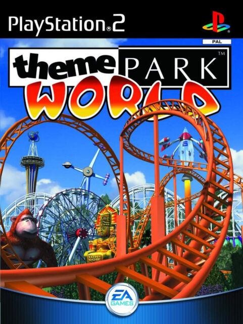"A RARE ""THEME PARK WORLD (Sony PlayStation 2, 2000) - European Version"
