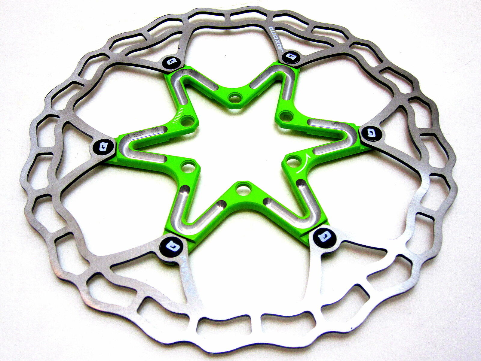 Quaxar LIGHT GREEN Ultralight  floating redor 180 mm 180mm Cannondale Merida  top brand