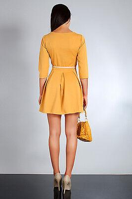 Women's Elegance & Classic Party Dress Crew Neck 3/4 Sleeve Sizes 8-14 FA47