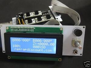 10-x-Reprap-Ramps-1-4-smart-LCD-controller-inclunding-smart-adapter
