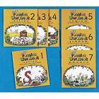 Jolly Phonics Workbooks 1-7 : Complete Set of 7 Books (precursive Letters) Vol. 17 by Sue Lloyd and Sara Wernham (1995, Stapled, Workbook)