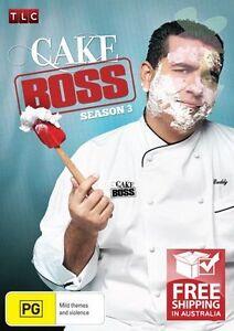 Cake Boss : Season 3 (DVD, 2011, 3-Disc Set) New Region 4