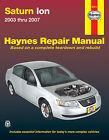Repair Manual Haynes 87011 fits 03-07 Saturn Ion