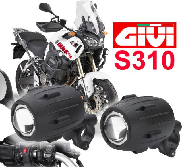 Givi S310 trekker faretti proiettori universali sfruttabili BMW R1200GS F800GS