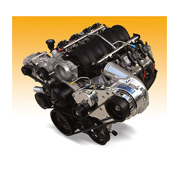 Procharger HO Intercooled Supercharger System GM LSx Transplant P-1SC-1 Serp