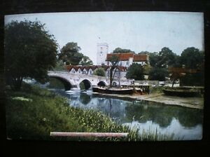 POSTCARD KENT AYLESFORD CHURCH amp BRIDGE 1900039S - Tadley, United Kingdom - Full Refund less postage if not 100% satified Most purchases from business sellers are protected by the Consumer Contract Regulations 2013 which give you the right to cancel the purchase within 14 days after the day you receive th - Tadley, United Kingdom