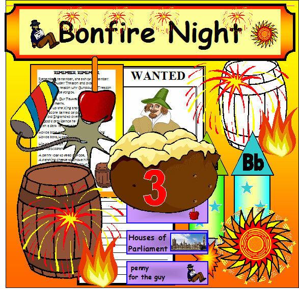 BONFIRE NIGHT GUY FAWKES Teaching resource Gunpowder plot  Teacher resource KS1