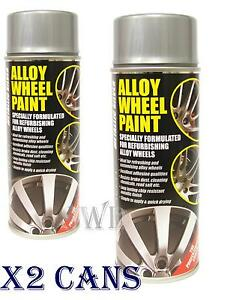 silver e tech car alloy look wheel spray paint 400ml can. Black Bedroom Furniture Sets. Home Design Ideas