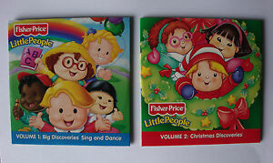 childrens-NURSERY-RHYMES-AND-CHRISTMAS-CAROLS-CD-fisher-price-LITTLE-PEOPLE-new