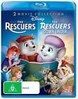 The Rescuers  / Rescuers Down Under (Blu-ray, 2012, 2-Disc Set)