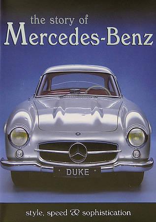 Story of Mercedes-Benz DVD Region 1, NTSC