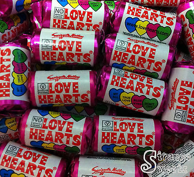 Mini Love Hearts Wedding Favours/Party Bags Sweets