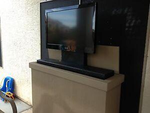 Pop Up Tv Plans Hidden Lcd Plasma Cabinet Tv Lift Quot Plan