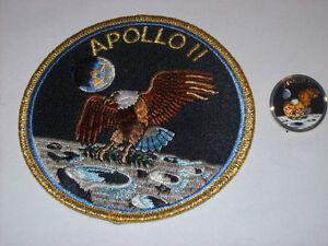 Apollo 11 Patch + Pin Set NASA Space Program Neil ...