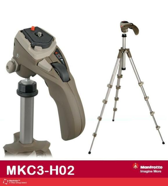 Manfrotto MKC3-H02 Photo-Movie Kit QR (Gray)