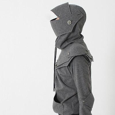 Arthur Knight  Medieval Armor Pullover Hoodie(100% Handmade Wool)