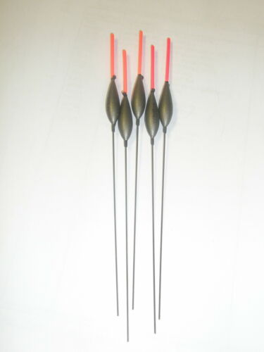 Middy 5 x PFSE Inline Carp tough Pole floats ALL SIZES PATTERNS Fishing tackle