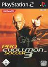 Pro Evolution Soccer 3 (Sony PlayStation 2, 2003, DVD-Box)