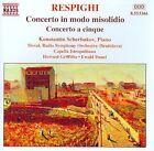 Ottorino Respighi - : Concerto in modo misolidio; Concerto a cinque (1999)