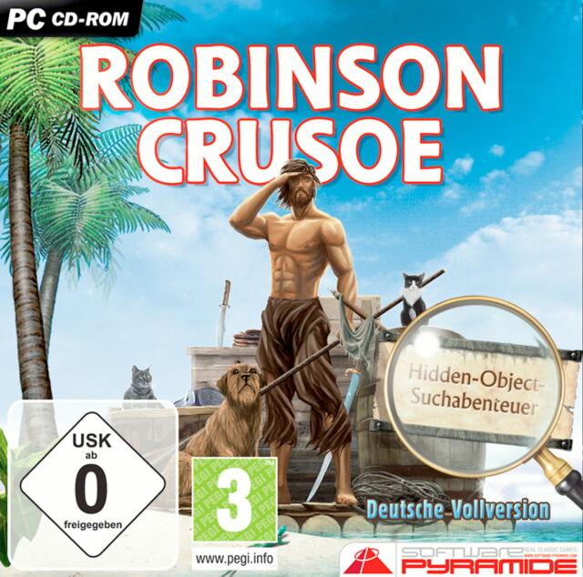 "PC CD-ROM Spiel ""Robinson Crusoe"""