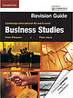 Cambridge International AS and A Level Business Studies Revision Guide by Peter Joyce, Peter Stimpson (Paperback, 2012)