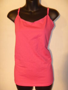 Cami Top Size 4X Plus Lane Bryant Pink Adjustable Spaghetti Strap Tank NWT G982