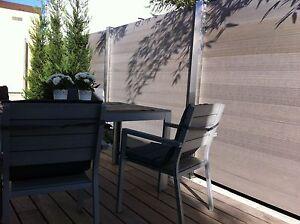 wpc sichtschutz zaun windschutz garten holz kunststoff, Garten und Bauen