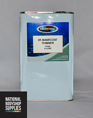 5L 2K BASECOAT THINNER PREMIUM QUALITY - DUAL USE -