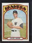 1972 Topps Jack Aker #769 Baseball Card