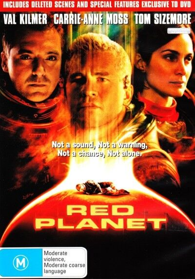 Red Planet (DVD, 2001)