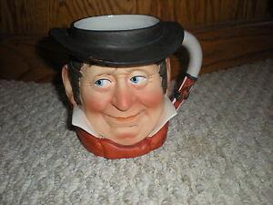 Norman-Rockwell-Toby-Mug-RARE-Saturday-Evening-Post-1979-Dave-Grossman-Cowboy
