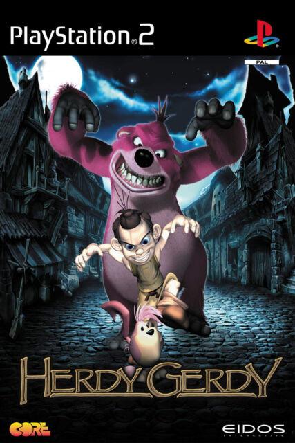 Herdy Gerdy mit Anleitung (PS2) - DVD wie Neu