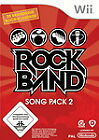 Rock Band: Song Pack 2 (Nintendo Wii, 2009, DVD-Box)