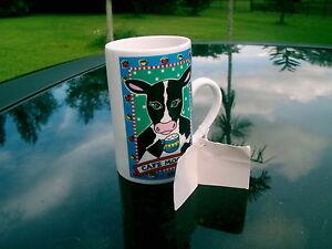 CAPPUCCINO-Coffee-Mug-Karen-Anagnost-FOR-GANZ-CAFE-MOOCHA-MUG-COW