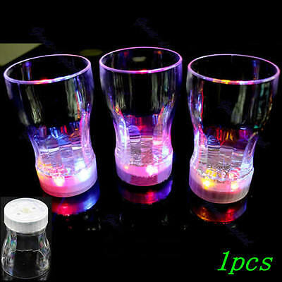 6 LED Light Flashing Decorative Beer Mug Drink Cup For Parties Wedding Clubs S