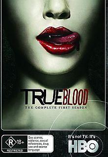 True Blood : Season 1 (DVD, 2010, 5-Disc Set)  LIKE NEW ... R4