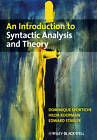 An Introduction to Syntactic Analysis and Theory by Hilda J. Koopman, Dominique Sportiche, Edward Stabler (Paperback, 2006)
