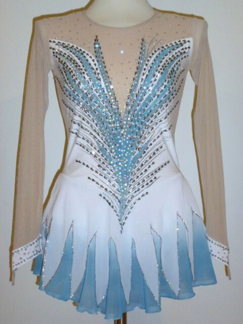 BEAUTIFUL FIGURE ICE SKATING DRESS SIZE LADIES MEDIUM