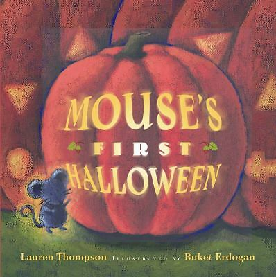 Mouse's First Halloween by Lauren Thompson (2003, Board Book)
